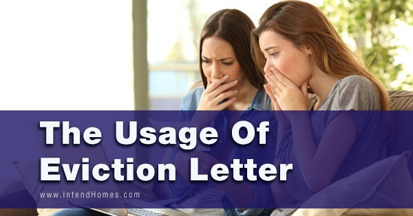 The Usage Of Eviction Letter