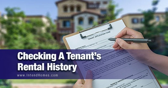 Checking A Tenant's Rental History