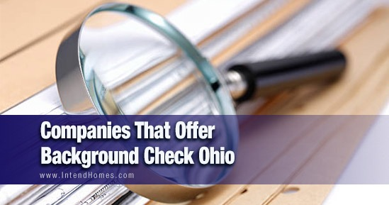Companies That Offer Background Check Ohio