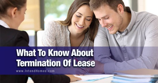 What To Know About Termination Of Lease