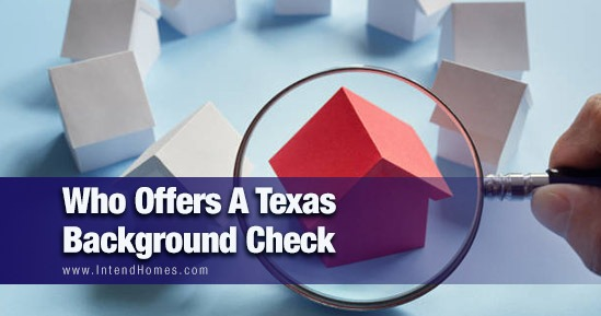 Who Offers A Texas Background Check