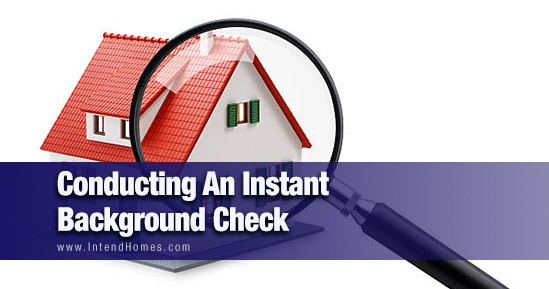 Conducting An Instant Background Check