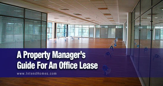 A Property Manager's Guide For An Office Lease